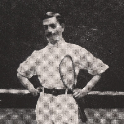 André Vacherot Roland-Garros 1894, 1895, 1896 et 1901.