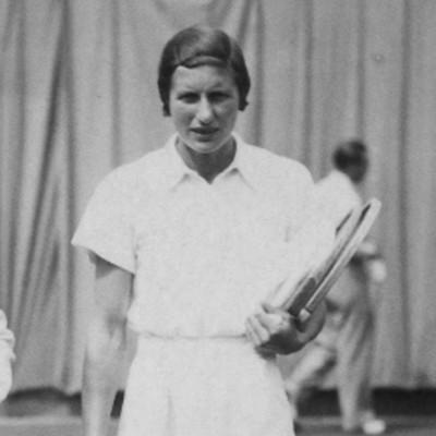 Hilde Sperling Simonne Mathieu finale Roland-Garros 1937.