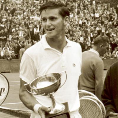 Roy Emerson Pierre Darmon finale Roland-Garros 1963.