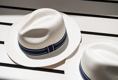 Panama hats at Roland-Garros 2018 La Griffe