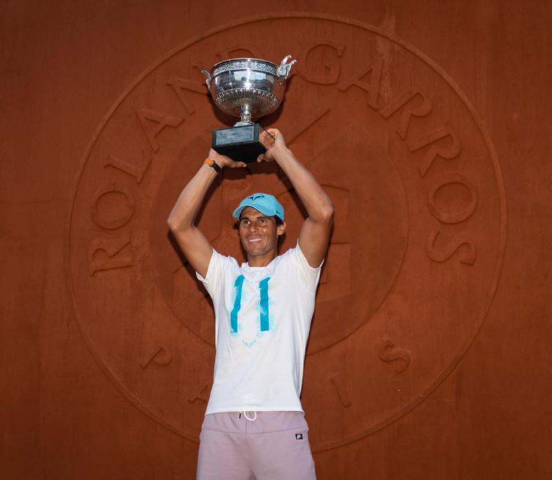 Rafael Nadal - Roland-Garros 2018 - trophée