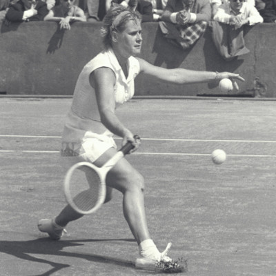 Shirley Bloomer Roland-Garros 1958.