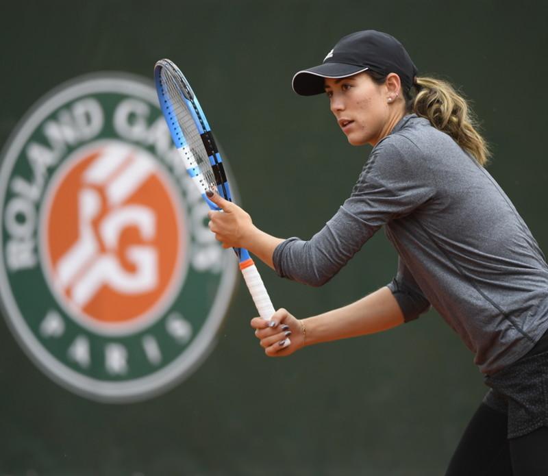 Garbine Muguruza - Roland-Garros 2019 - Entraînement