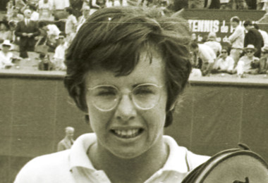 Billie Jean King Roland-Garros champ 1972 French Open.