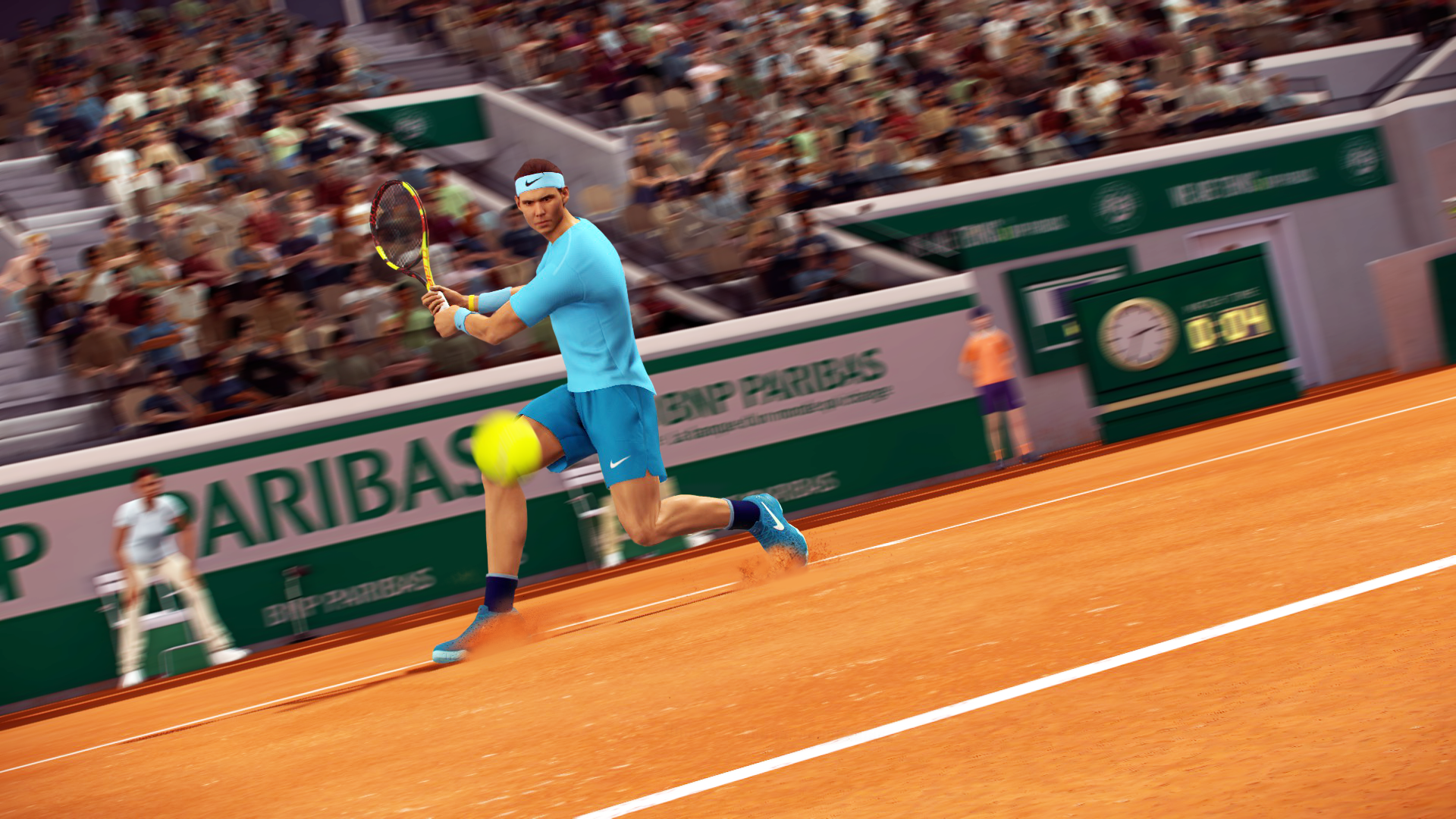 Big Ben - Roland-Garros - The 2020 Roland-Garros Tournament official