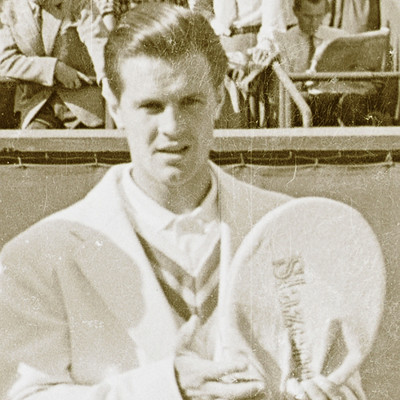 Sven Davidson Roland-Garros 1957.