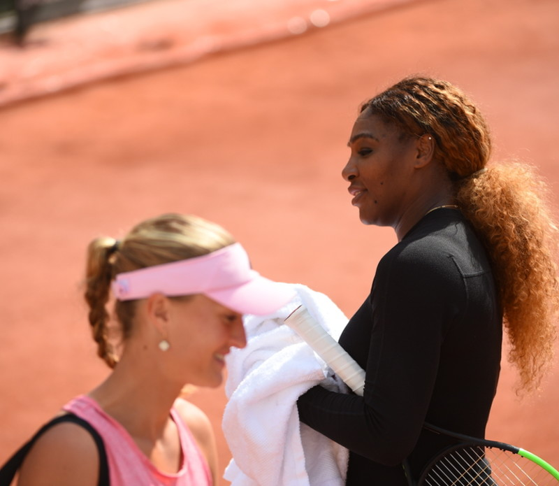 Serena Williams - Kristina Mladenovic