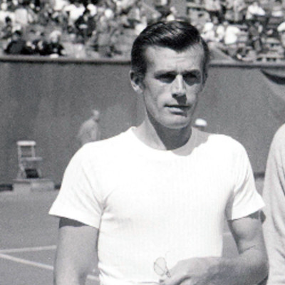 Frank Parker Roland-Garros 1949 French Open Paris.