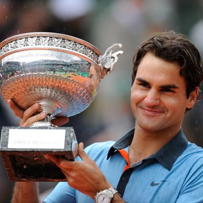 Roger Federer champion Roland-Garros 2009 French Open champ.