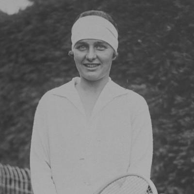 Cornelia Kea Bouman Roland-Garros 1927 French Open champ.