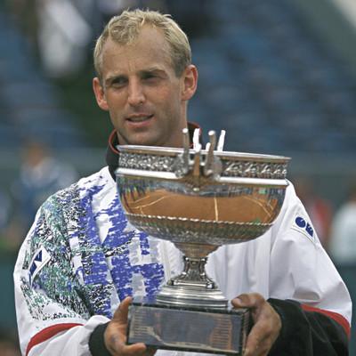 Thomas Muster Roland-Garros 1995 champion.
