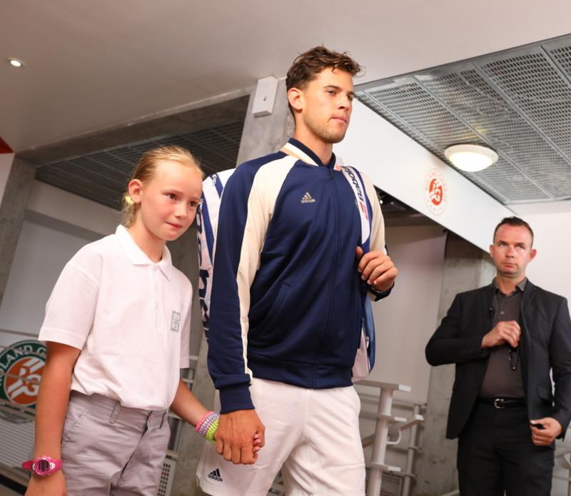 Roland-Garros 2018, 8e de finale, Dominic Thiem