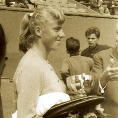 Ann Haydon Jones Roland-Garros 1961.