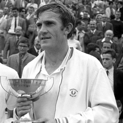 Tony Roche Istvan Gulyas Roland-Garros 1966 French Open.