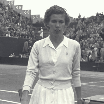 Doris Hart championne Roland-Garros 1950 - 1952.