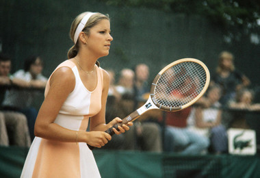 Chris Evert Roland-Garros 1975.