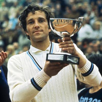 Jan Kodes Roland-Garros 1970.