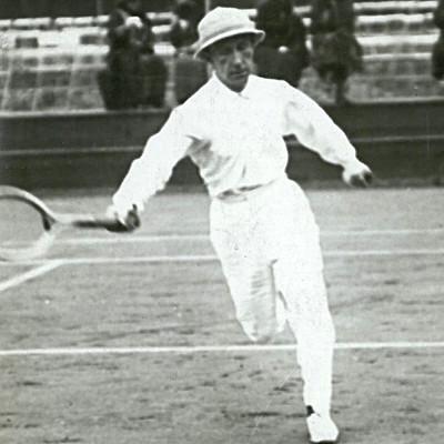 Maurice Germot Roland-Garros 1910.