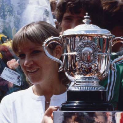 Chris Evert championne Roland-Garros 1979 French Open champ.