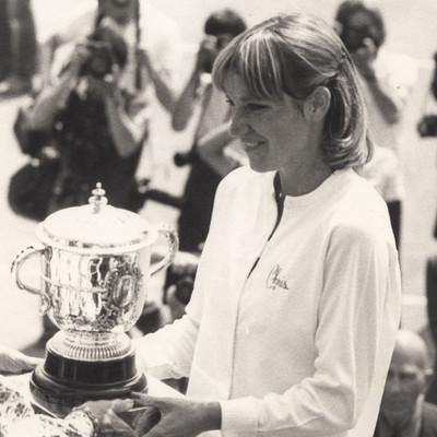 Chris Evert Roland-Garros 1979.