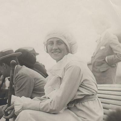 Marguerite Broquedis Roland-Garros 1913 1914.