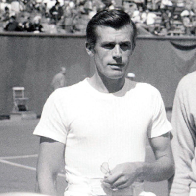 Frank Parker Roland-Garros 1949 French Open Paris.