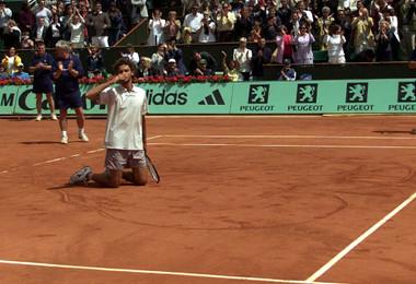 Gustavo Kuerten Roland-Garros 2001.