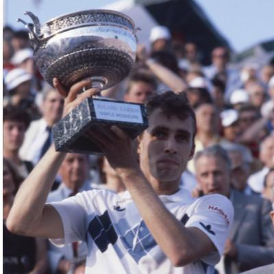Ivan Lendl Roland-Garros 1984.