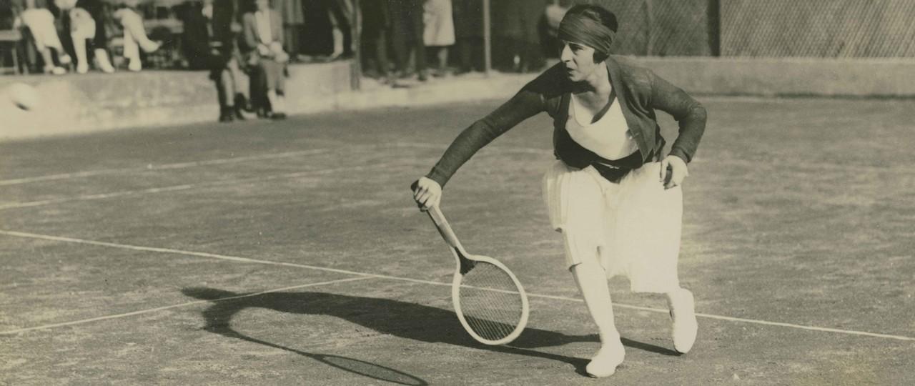 Suzanne Lenglen circa 1923 in Cannes