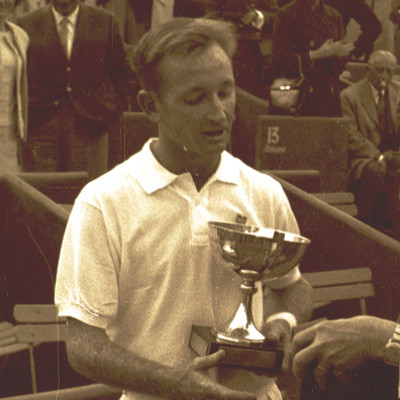 Rod Laver Roland-Garros 1962.