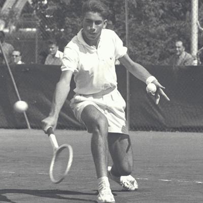 Manolo Santana coupe de Galéa 1961.