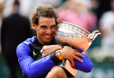 Rafael Nadal champion Roland-Garros 2017 French Open champ.