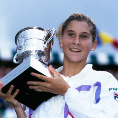 Monica Seles championne Roland-Garros 1990 French Open champ.