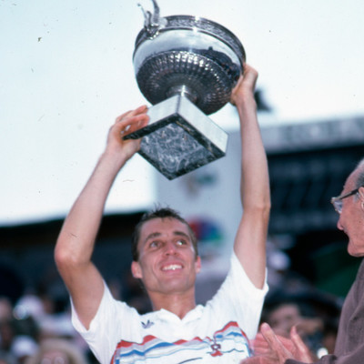 Ivan Lendl Roland-Garros 1987.