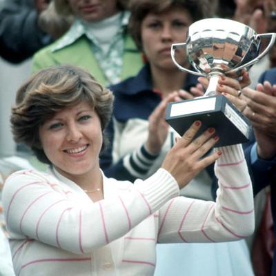 Mima Jausovec Roland-Garros 1977 champ.