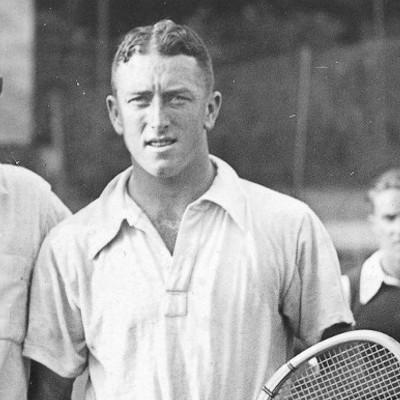 Jack Crawford champion Roland-Garros 1933.