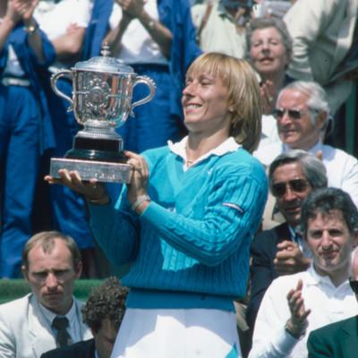 Martina Navratilova championne Roland-Garros 1984 French Open.