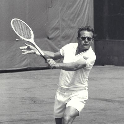 Jaroslav Drobny Roland-Garros.