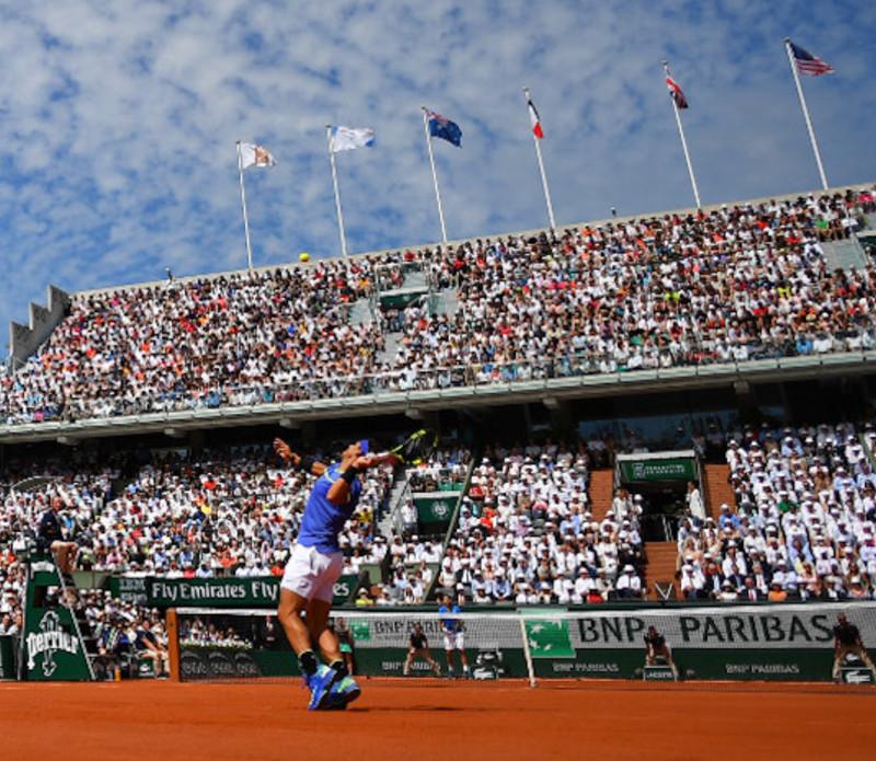 Rafael Nadal Stan Wawrinka Roland-Garros 2017.