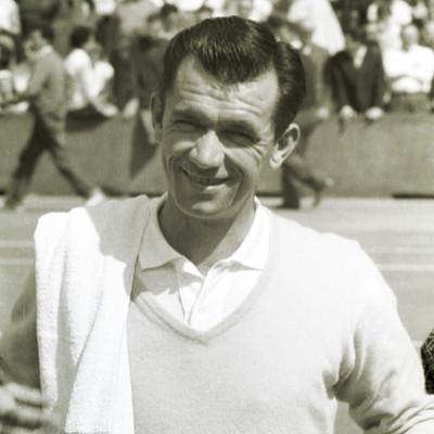 Mervyn Rose Roland-Garros 1958.