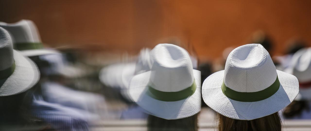 Hat at Roland-Garros 2019