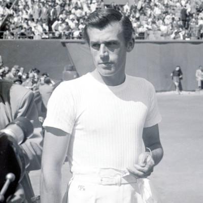 Frank Parker Roland-Garros 1949.