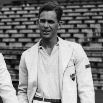 Don McNeill Roland-Garros champ 1939 Paris French Open.