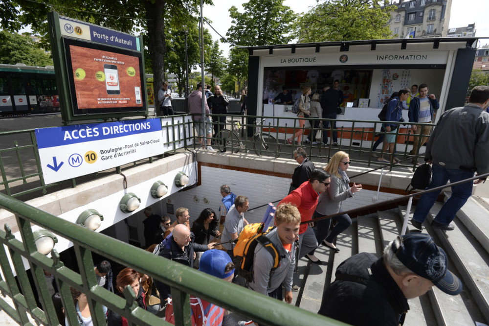 Roland Garros Location In Paris Map.Getting To The Stadium Roland Garros The 2018 French Open