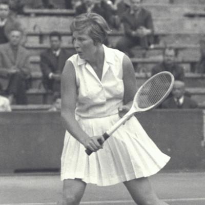 Christine Truman Roland-Garros 1959.