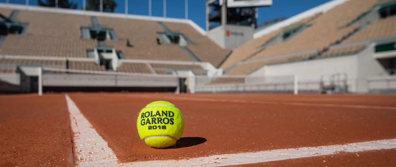 Balle Roland-Garros 2018 Suzanne-Lenglen.