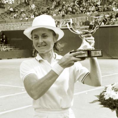 Nancy Richey championne Roland-Garros 1968 French Open champ.