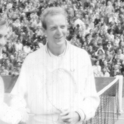 Fred Stolle Tony Roche Roland-Garros 1965.