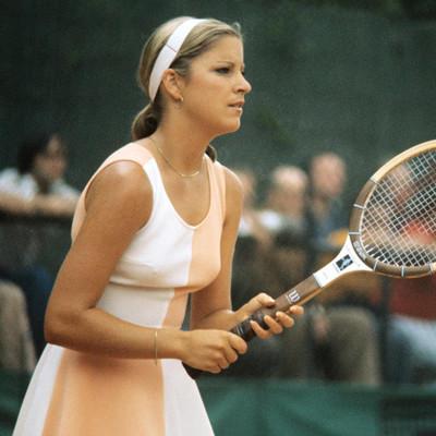 Chris Evert Roland-Garros 1975.