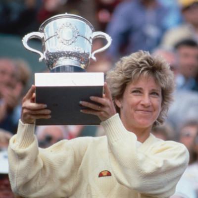 Chris Evert championne Roland-Garros 1985 French Open champ.